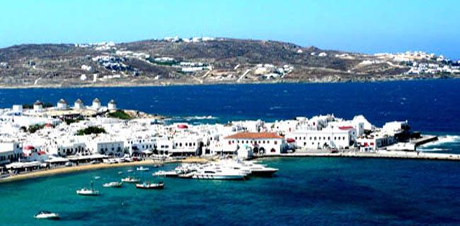 Tour isole Greche Mykonos Santorini con volo aereo ...